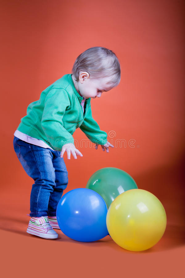 Download Balloons stock image. Image of happiness, balloon, carefree - 18766213