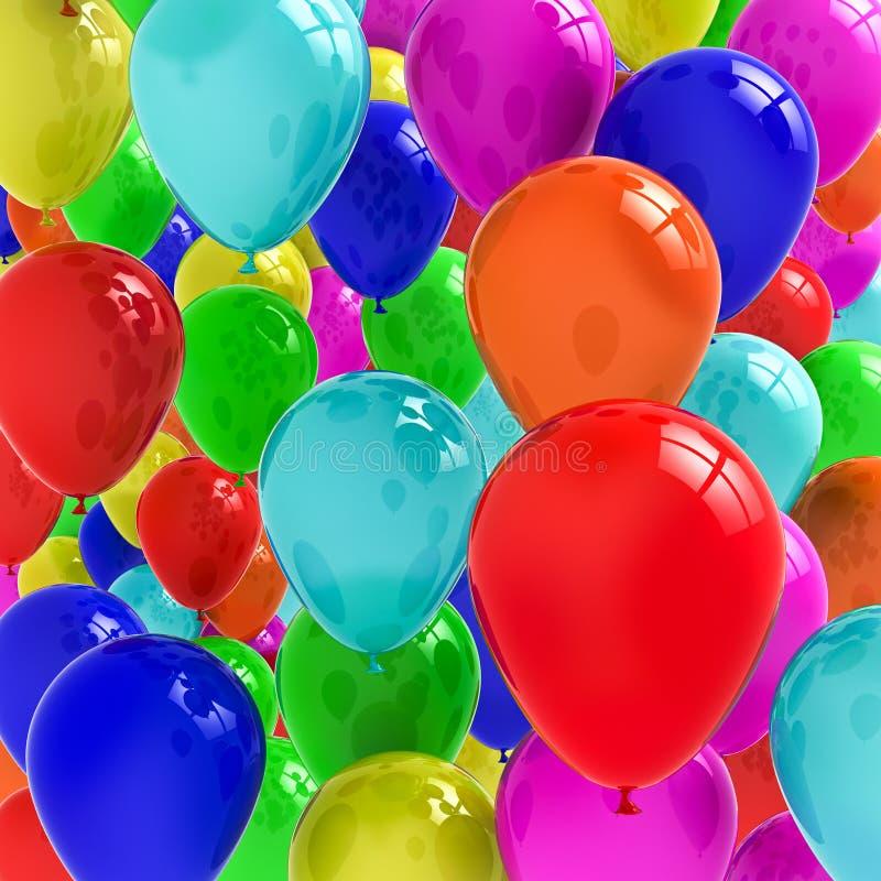 Download Balloons stock illustration. Illustration of decoration - 19420660