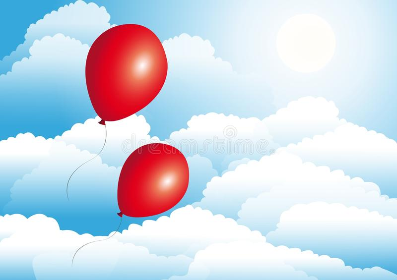 Download Balloons stock vector. Image of illustration, graphic - 19585961