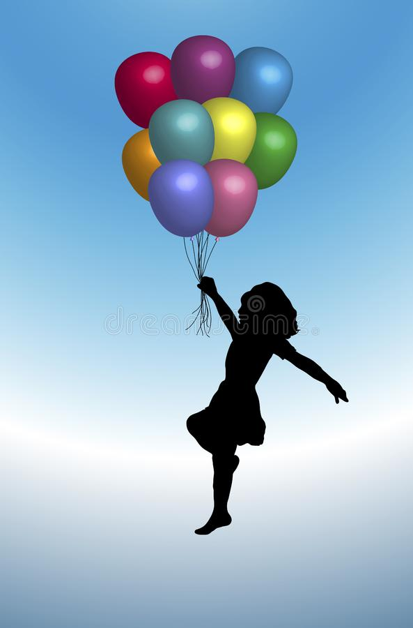 Balloons 3 stock images
