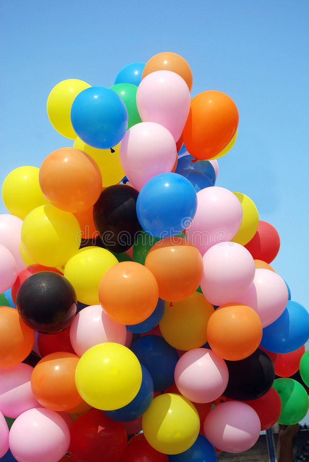 Download Balloons stock image. Image of decoration, festive, celebration - 4165945