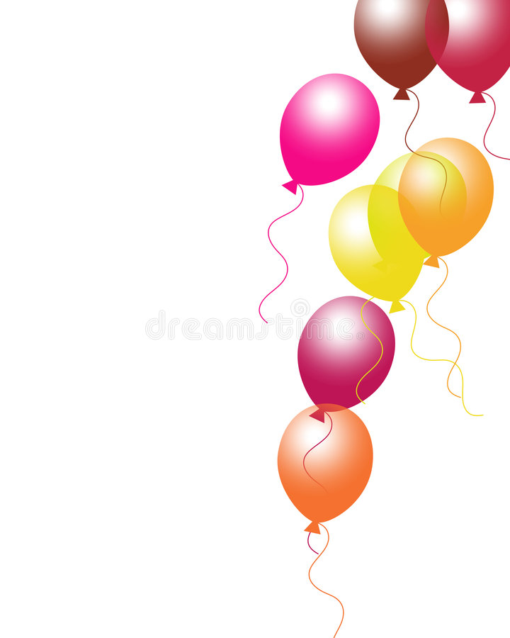 Download Balloons stock illustration. Image of background, events - 5670327