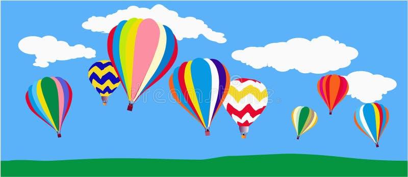 Balloons royalty free illustration