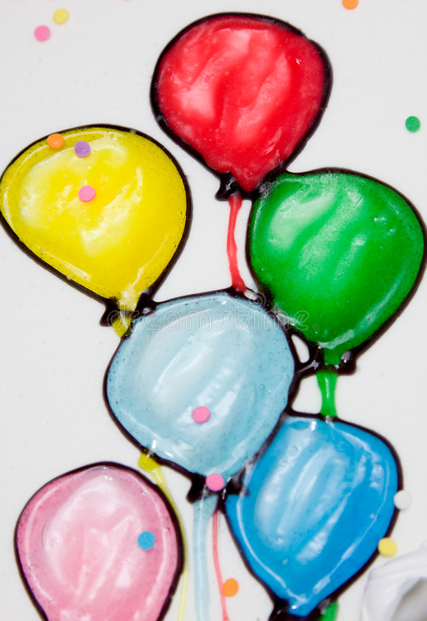 Download Balloons stock image. Image of celebration, colors, birthday - 9266543
