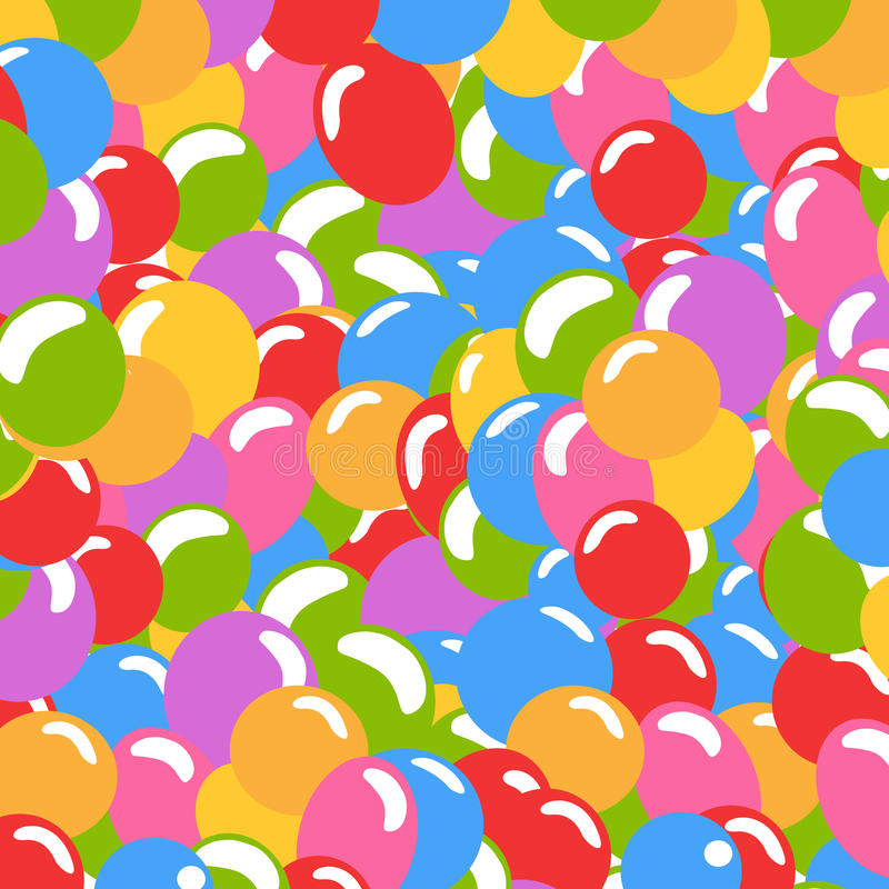 Download Balloons background stock vector. Image of oxygen, festive - 15266391