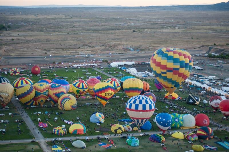 Balloons at a balloon festival royalty free stock photos
