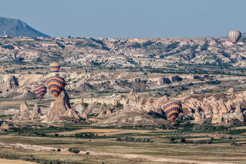 Download Balloons in Cappadocia stock image. Image of geological - 39503451