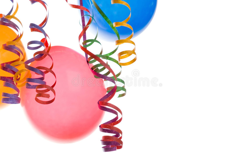 Download Balloons And Confetti Stock Photo - Image: 4069550
