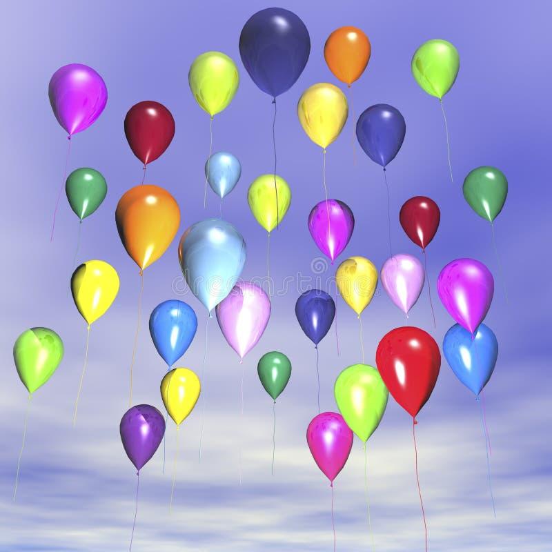 Balloons stock illustration
