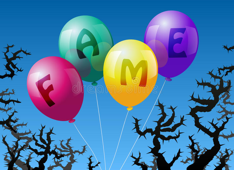 Download Balloons Fame Royalty Free Stock Photos - Image: 36118378