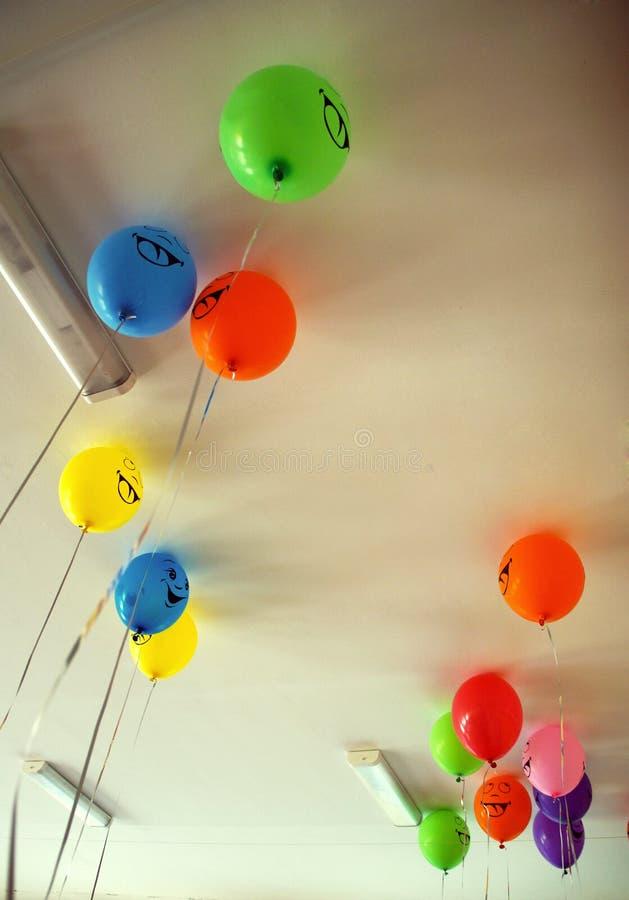 Balloons happines imagens de stock royalty free