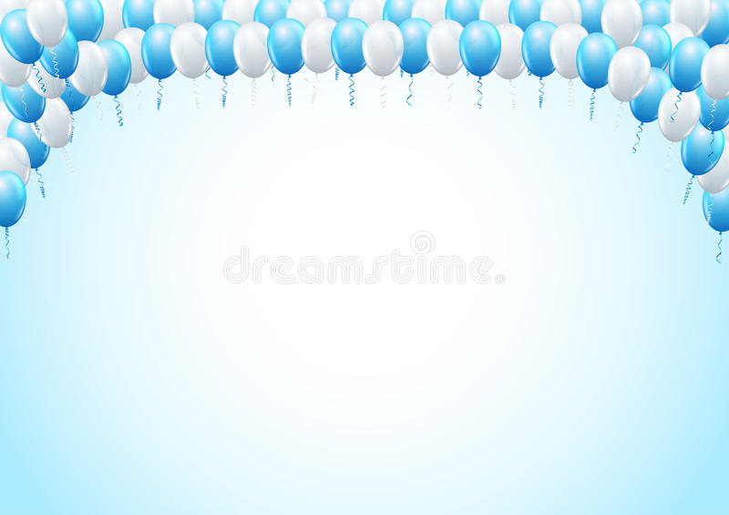Balloons header template stock vector illustration of invitation download balloons header template stock vector illustration of invitation 65221597 stopboris Image collections