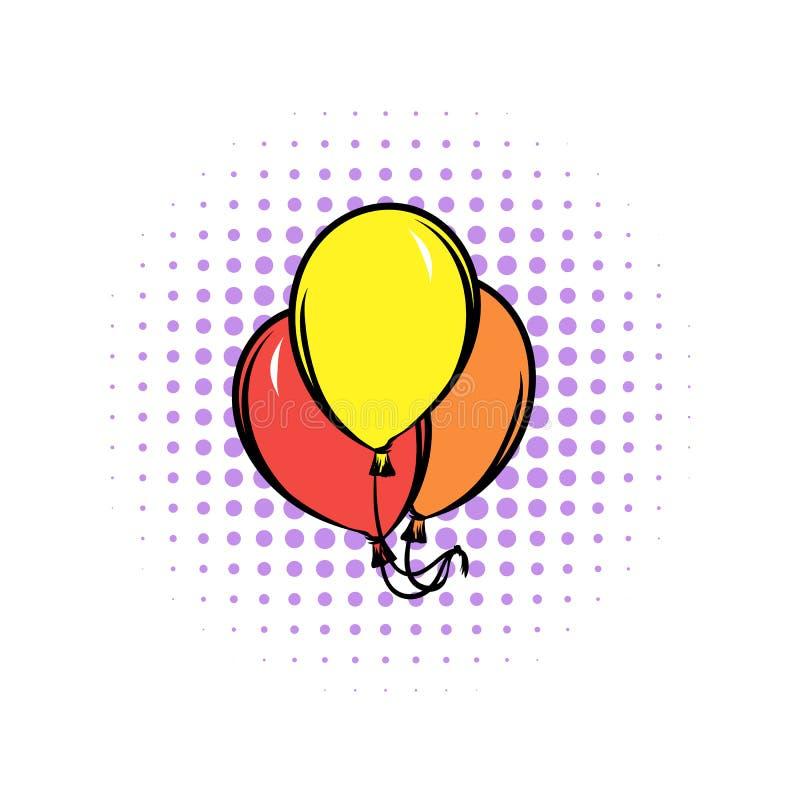 Balloons l'icona dei fumetti illustrazione vettoriale