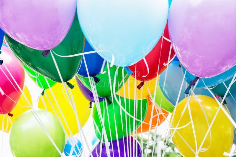 Balloons party stock photos