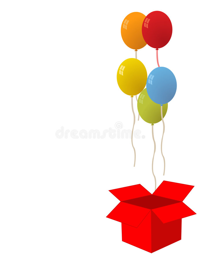 Balloons For Party Vector Royalty Free Stock Photos