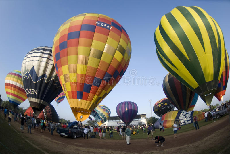 Balloons Ready For Launch Editorial Image