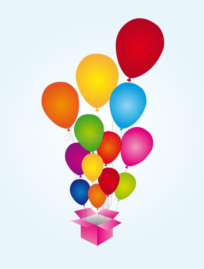 Balloons Surprise Stock Image