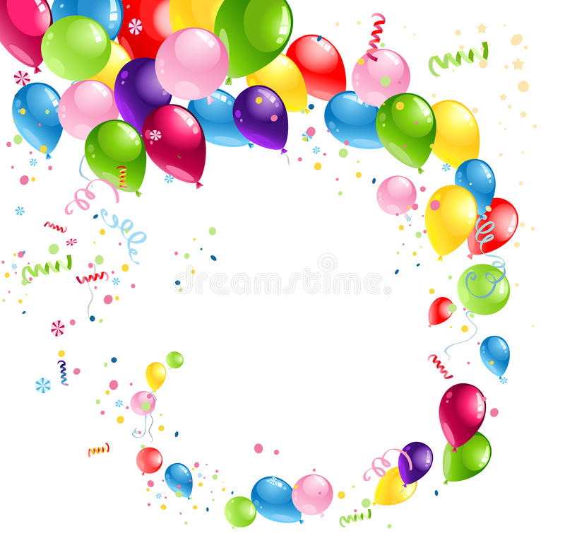 Download Balloons swirl stock vector. Illustration of mid, helium - 32184300
