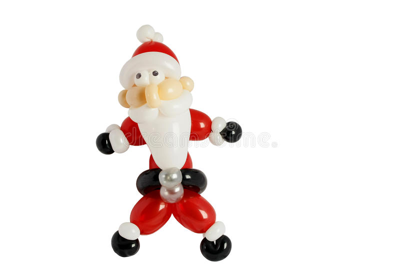 Download Balloons Twisted To Look Like Santa Royalty Free Stock Image - Image: 11814006
