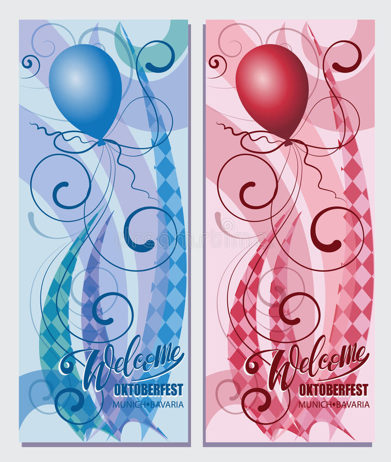 Balloons welcome oktoberfest munich bayern stock vector welcome oktoberfest munich bayern stock vector illustration of m4hsunfo