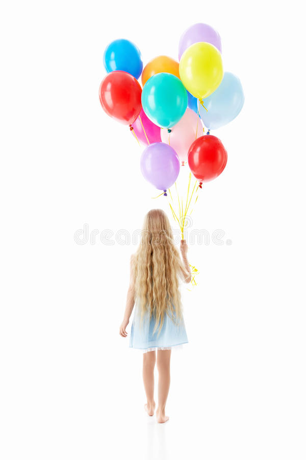 Ballooons royalty free stock photo
