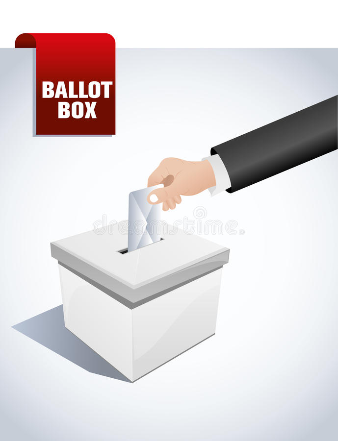 Download Ballot box stock vector. Illustration of independence - 16664588