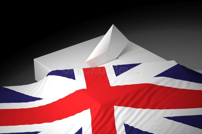 Download Ballot box stock illustration. Image of england, political - 31982197