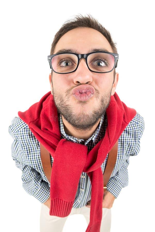 Ballot envoyant un baiser image stock