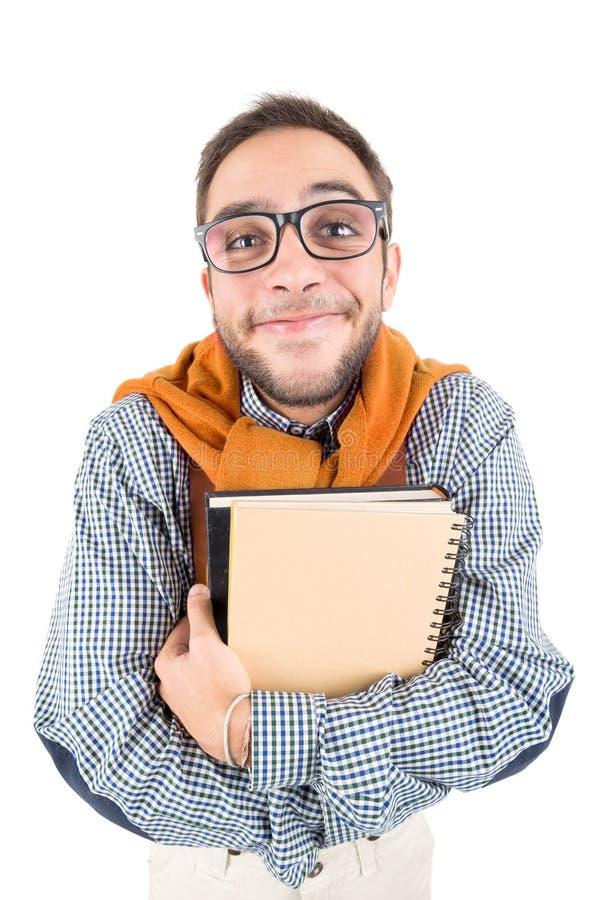 Ballot posant avec des livres image stock