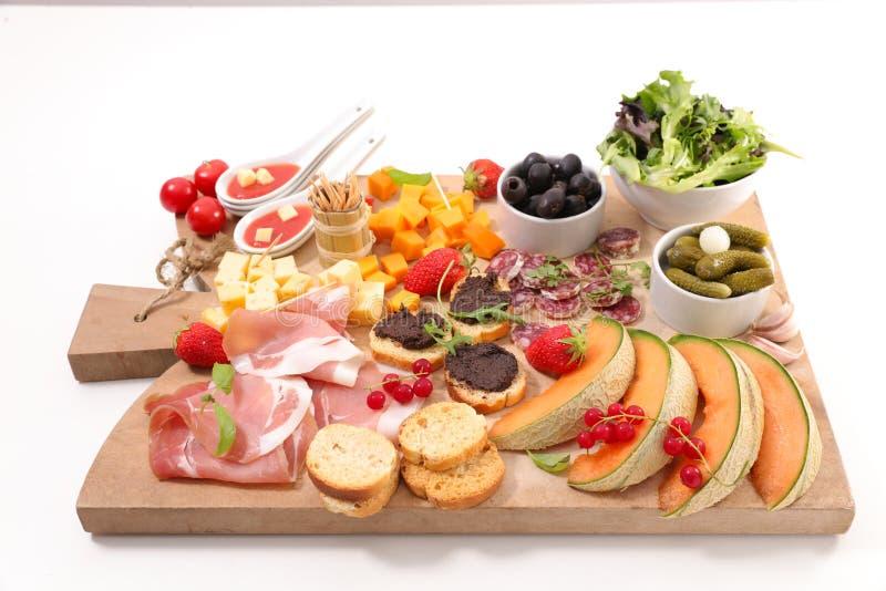 Ballottez la nourriture image stock