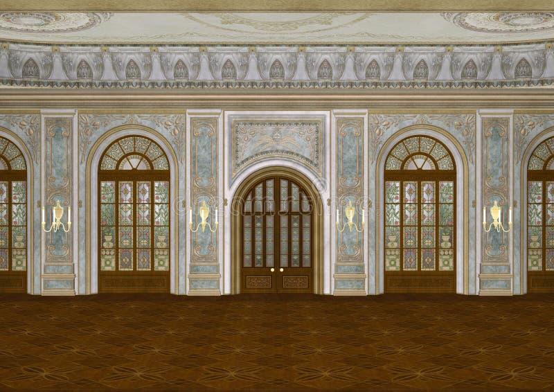 ballroom ilustración del vector