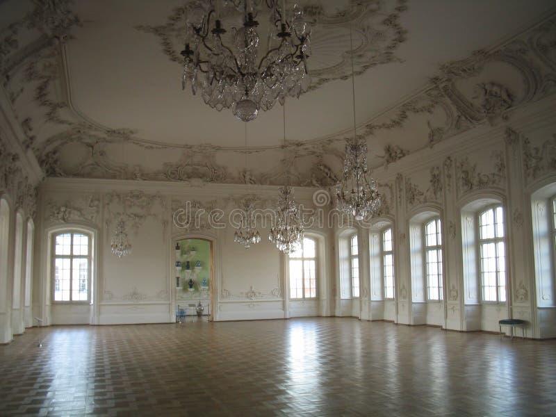 Ballroom. In Rundales Castle, Latvia