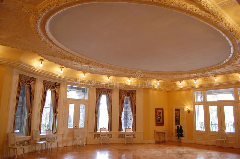 Ballroom In Boldt Castle Editorial Photography