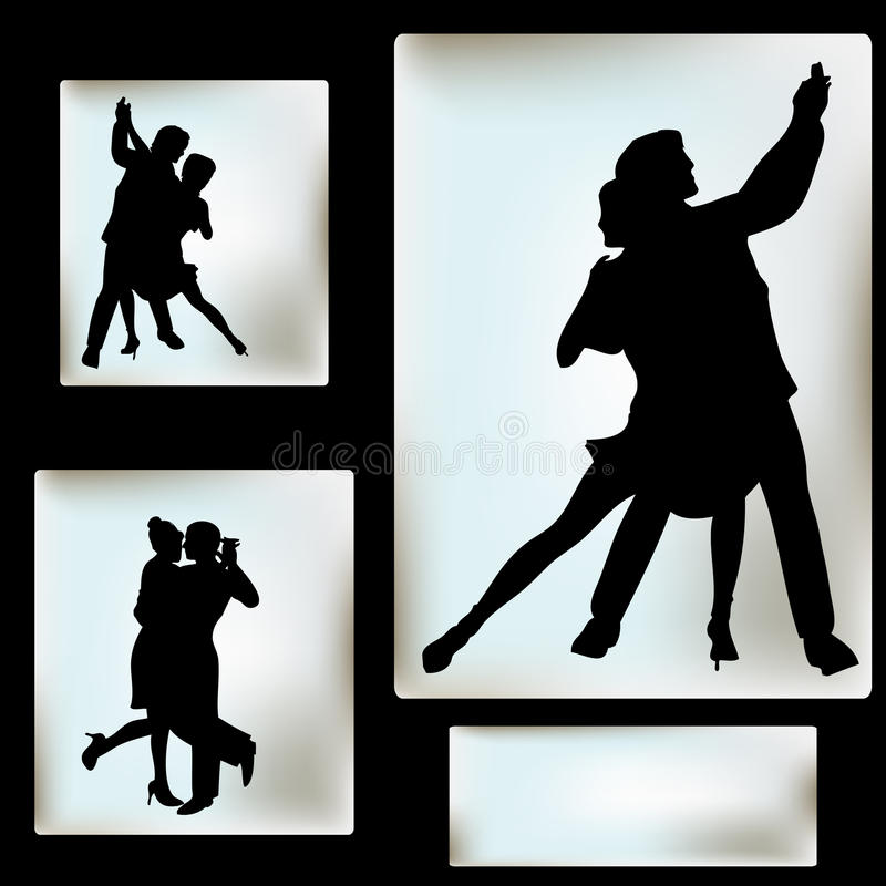 Ballroom Dance. Background, for an event or Dance School vector illustration