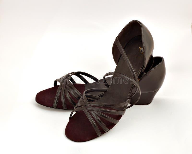 Ballroom dance shoes stock image