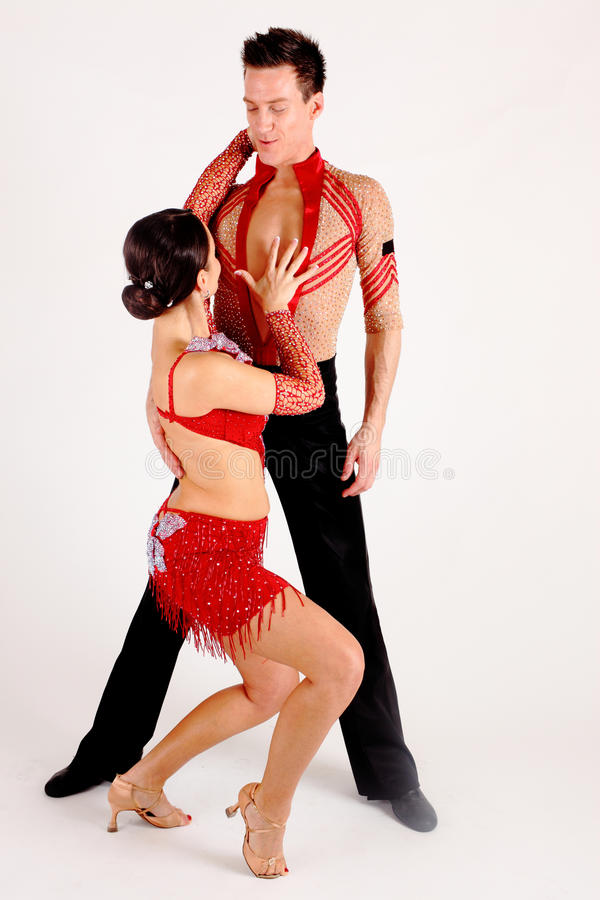 Ballroom Dancers royalty free stock photo