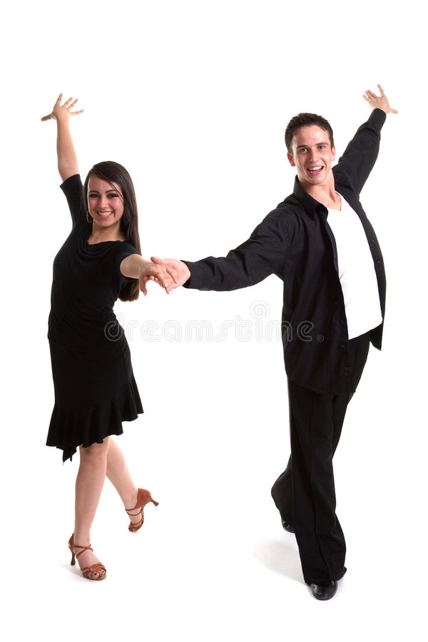 Download Ballroom Dancers Black 02 Royalty Free Stock Image - Image: 14005346