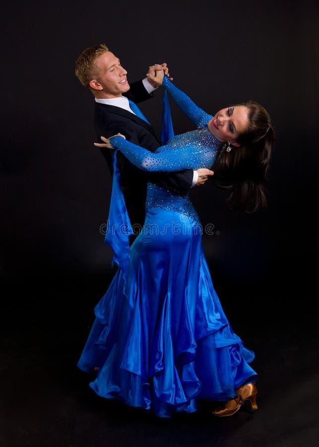 Free Ballroom Dancers Blue 12 Stock Photo - 14005250