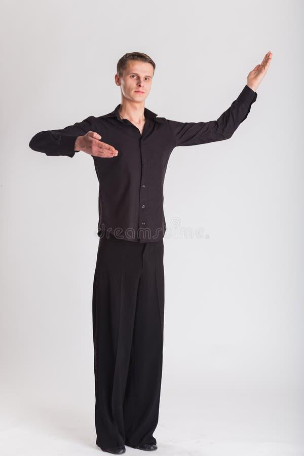 Ballroom dansen stock foto's