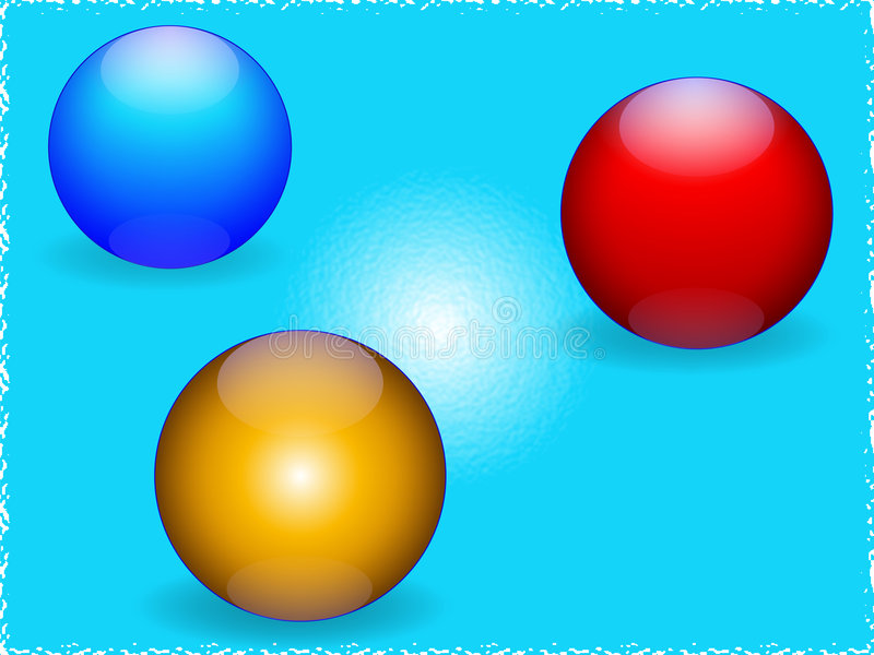 Balls stock illustration