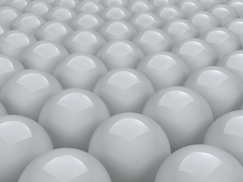 Balls Array Stock Images