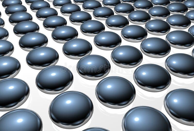 Balls background royalty free illustration
