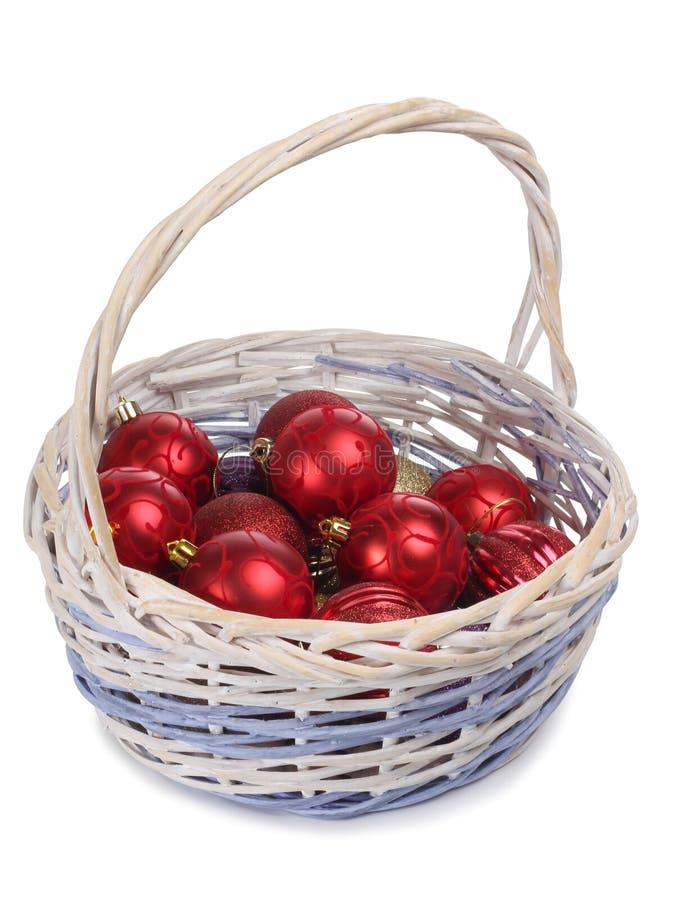 Balls in basket