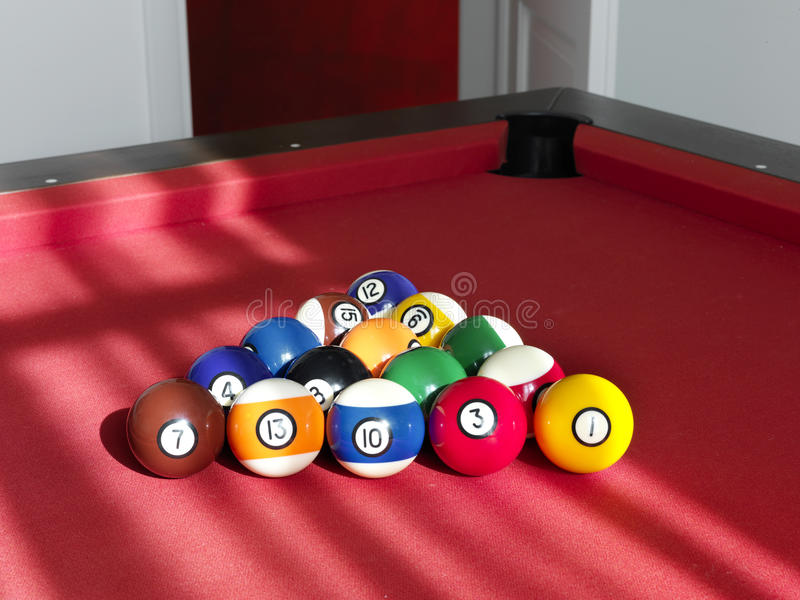 Download Balls for billiard stock image. Image of steel, gambling - 18440791