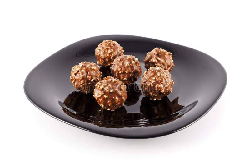 Download Balls of chocolate stock image. Image of crispi, premium - 19374411