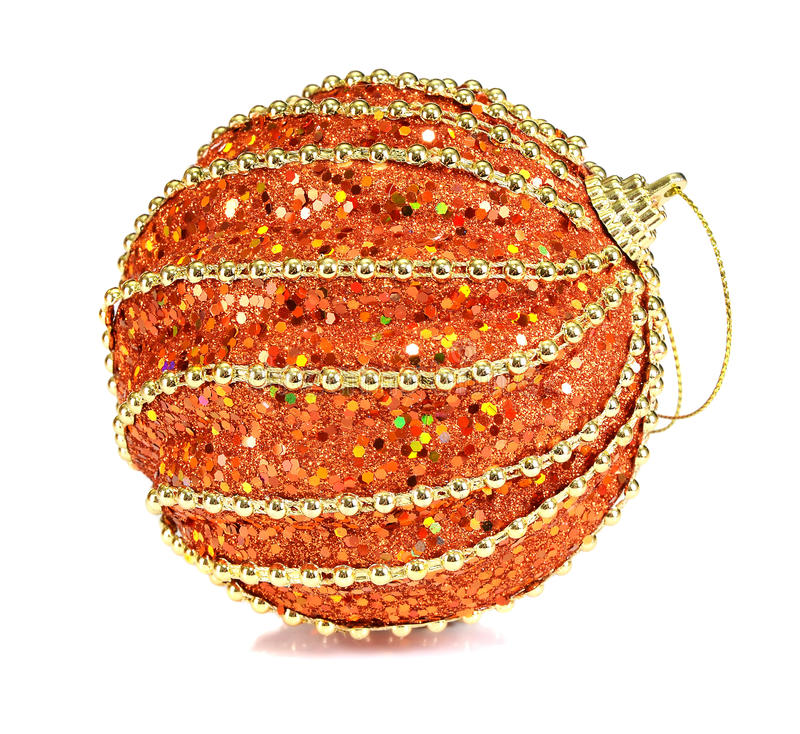 Balls Decoration For New Year And Christmas Stock Photo