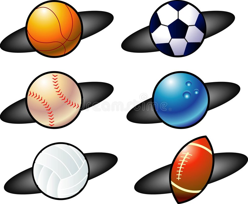 Balls icon royalty free illustration