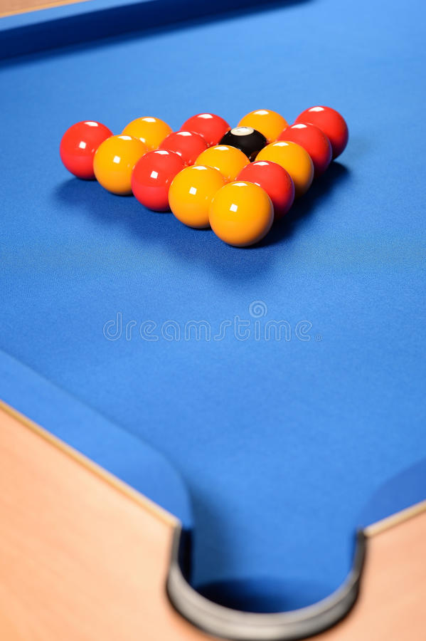 Download Balls set up on pool table stock photo. Image of near - 38327022 & Balls set up on pool table stock photo. Image of near - 38327022