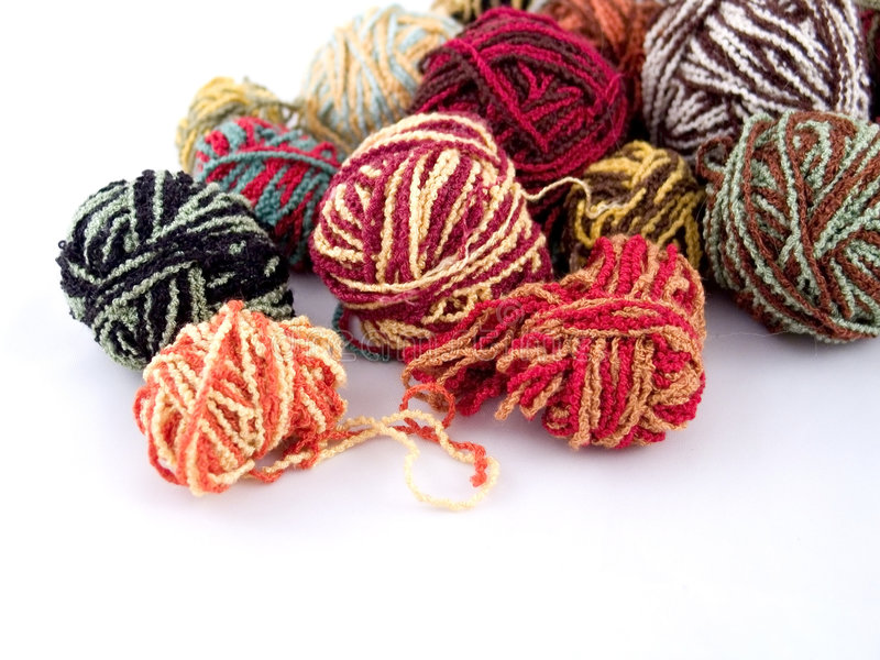 Download Balls Of Yarn Royalty Free Stock Photo - Image: 338655
