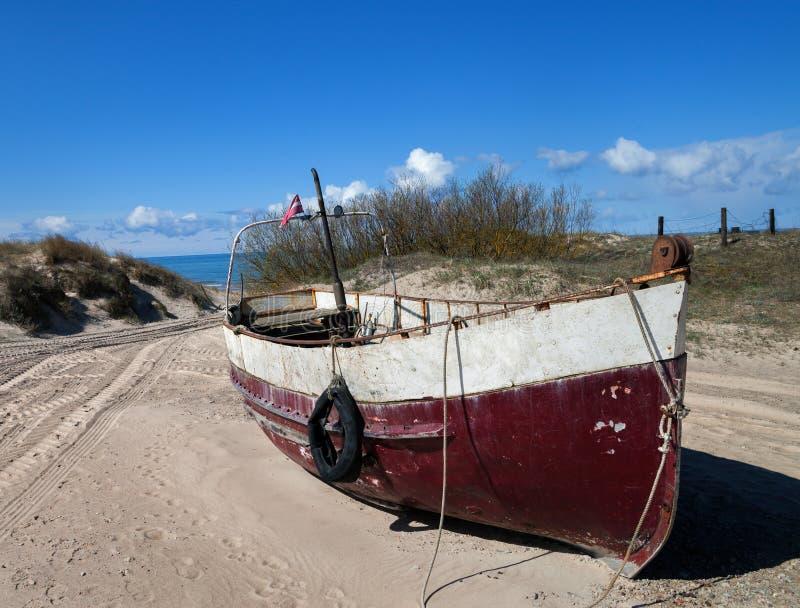 Balltic海海岸线  图库摄影